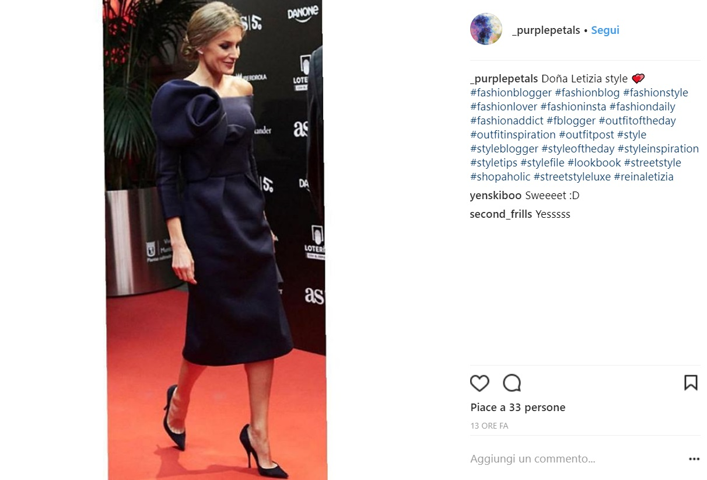 Letizia Ortiz regina di eleganza: tubino aderente e chic FOTO