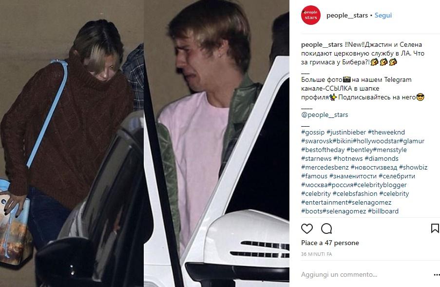 Selena Gomez e Justin Bieber, insieme per finta? La FOTO che...