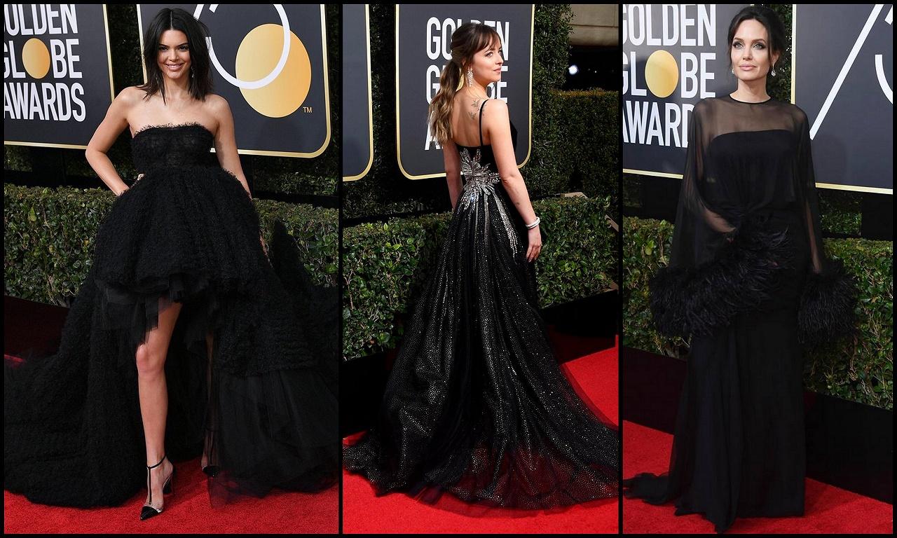 """Il """"Black Carpet"""" dei Golden Globe 2018 FOTO"""