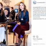 Rania di Giordania, Juliana Awada, Maxima d'Olanda a Davos 7