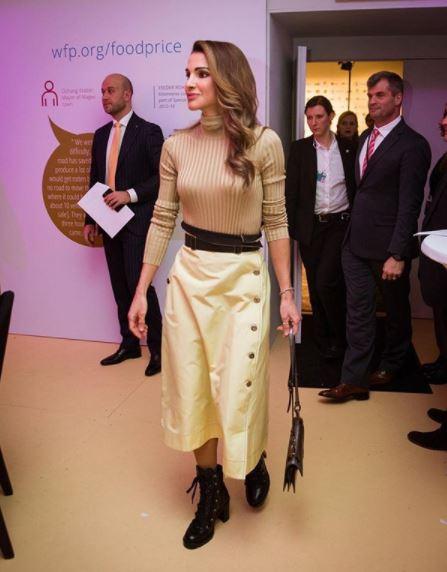 Rania di Giordania, Juliana Awada, Maxima d'Olanda a Davos 1