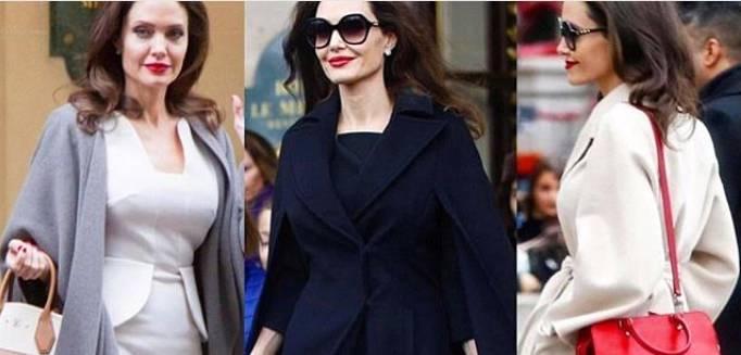 Look a lavoro: lasciati ispirare da Angelina Jolie a Parigi! FOTO