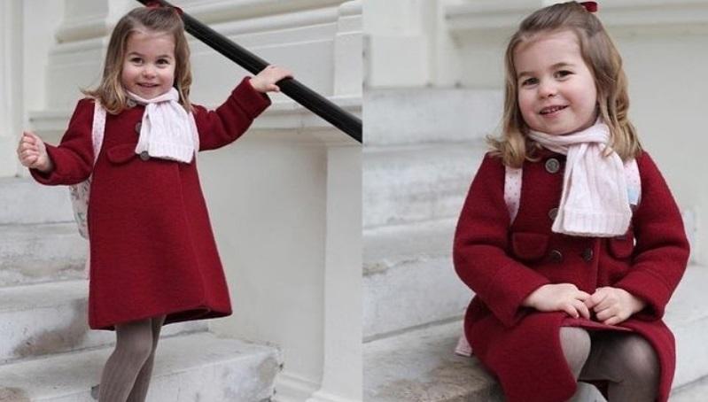 Primo giorno di scuola della principessa Charlotte: acquista il cappottino! FOTO
