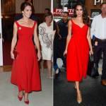 Kate Middleton: tutte le volte che Meghan Markle si ispirata ai suoi look FOTO