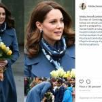 Kate Middleton incinta veste italiano: cappottino super chic FOTO