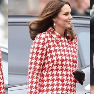 buy online 8ff3f 8cea1 Kate Middleton, il cappotto nasconde un segreto: omaggio a...