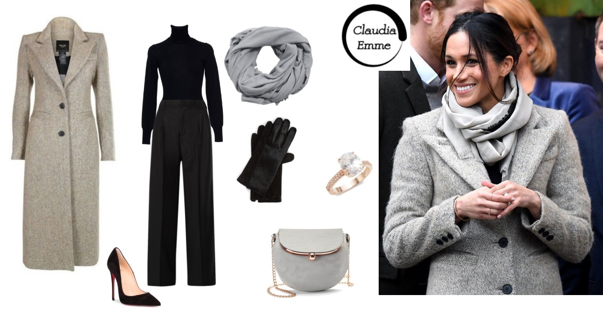 Meghan Markle, copia il look: FOTO SET dell'ultimo outfit