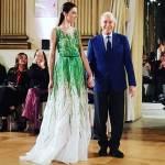 Renato Balestra: giovane primavera e pochi fiori, la magia del couturier FOTO