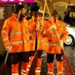 I ragazzi di Amici puliscono le strade di Roma
