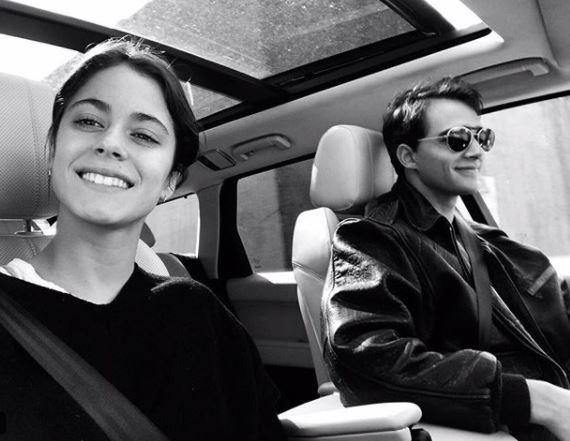 Martina Stoessel, il fidanzato Pepe Barroso modello per Armani