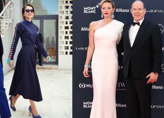 Charlene di Monaco, Rania di Giordania: look a confronto