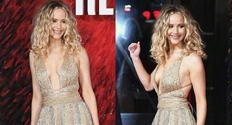 Jennifer Lawrence, bellissima fatina in abito Dior FOTO