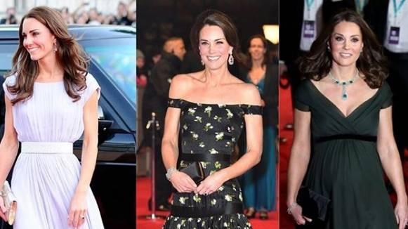 Kate Middleton sul red carpet dei Bafta dal 2011 al 2018. La Duchessa ha partecipato 3 volte, ecco le FOTO di tutti gli abiti scelti.