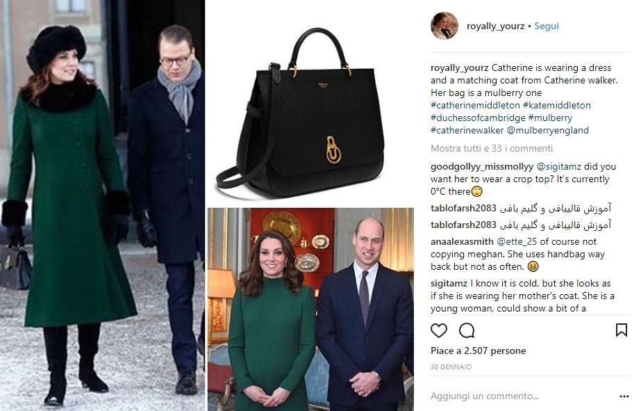 Kate Middleton: perché si veste (quasi) sempre di verde FOTO