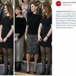 Letizia Ortiz, longuette leopardata per la regina FOTO