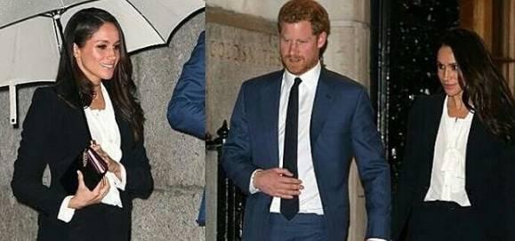 Meghan Markle, il look che omaggia Kate Middleton FOTO