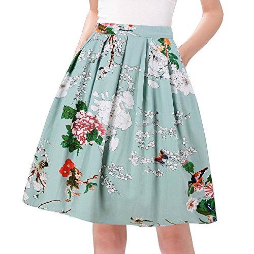 10 Midi Skirt Che Indosseremo In Primavera Estate 2018 Foto