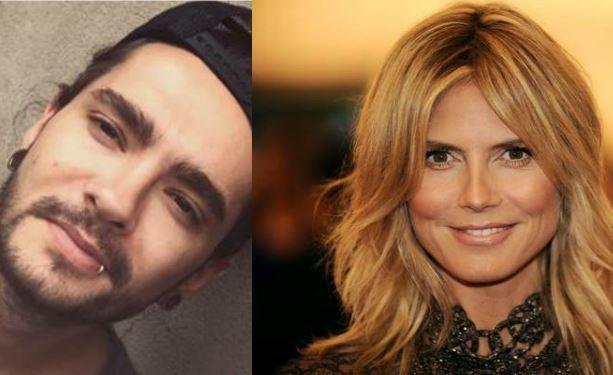 Heidi Klum ha un nuovo amore: Tom Kaulitz dei Tokyo Hotel