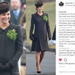 Kate Middleton, tutti i look (in verde) di San Patrizio dal 2012 FOTO