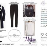 Meghan Markle easy chic, copia il look: cappottino e skinny FOTO