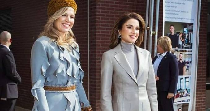 Rania di Giordania e Maxima d'Olanda super chic: scopri i look FOTO