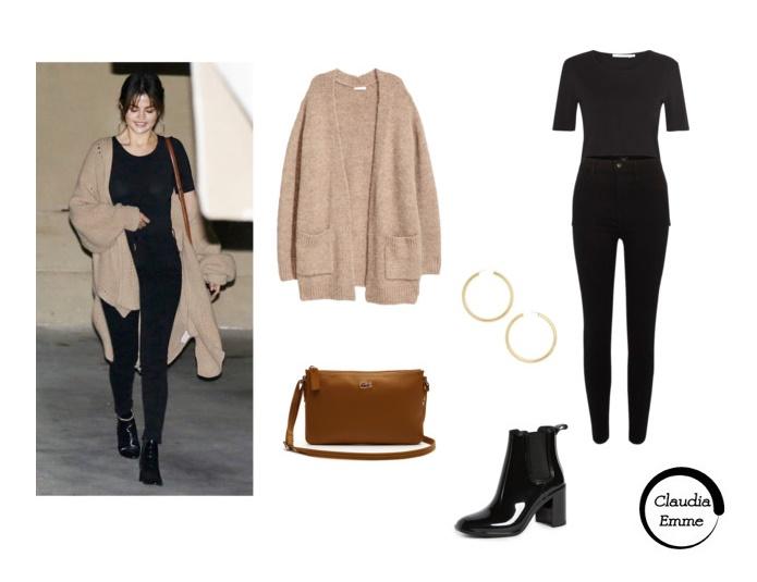 Selena Gomez easy chic: copia il look! FOTO