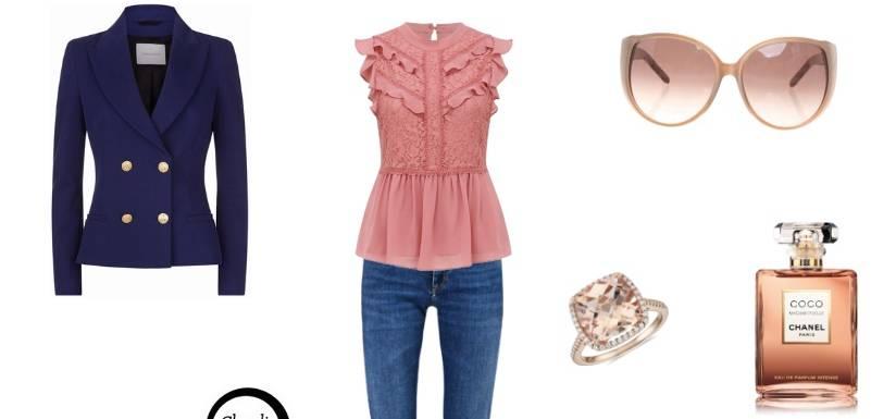 Look del giorno: jeans e blusa, profumo di primavera! FOTO