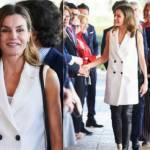 Letizia Ortiz look: anche la regina cede alle slipper