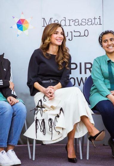 Letizia Ortiz, Rania di Giordania: i look più belli della settimana
