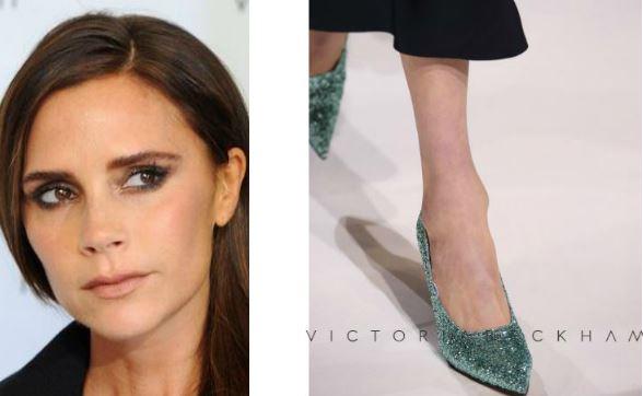 Victoria Beckham rilancia la scarpa glitterata FOTO