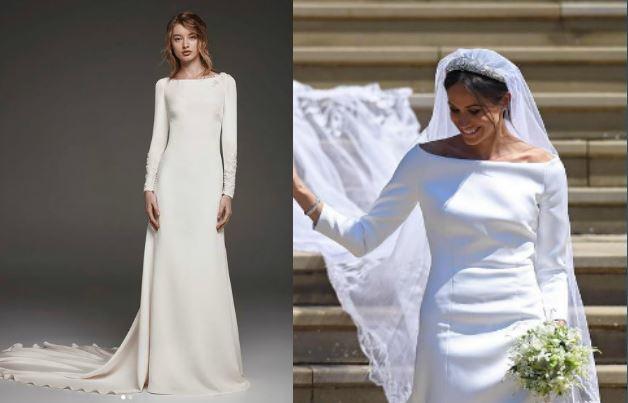 Meghan Markle: 6 abiti da sposa ispirati al suo FOTO