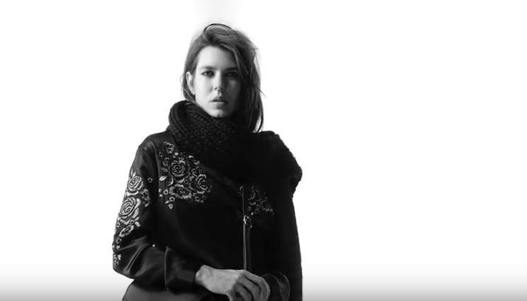 Charlotte Casiraghi modella per Saint Laurent VIDEO