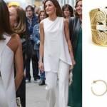 Letizia Ortiz look: total white per la regina di Spagna