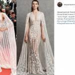 Cannes 2018, Irina Shayk, Cate Balchett, Deepika Padukone: look