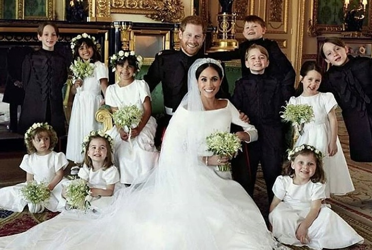 Matrimonio Harry e Meghan: il dettaglio (segreto) sulle foto ufficiali