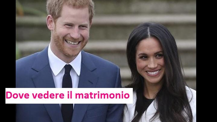 Matrimonio Harry In Tv : Harry e meghan matrimonio dove vederlo canali diretta tv
