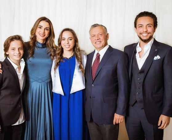 Rania di Giordania festeggia la figlia Salma: la principessa si è diplomata FOTO