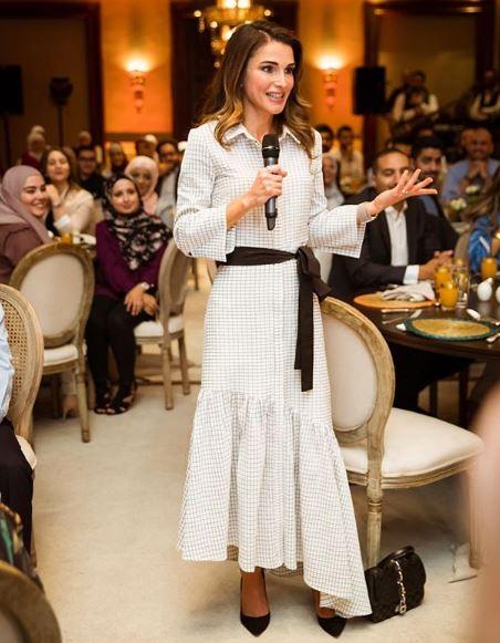 Rania di Giordania e Letizia Ortiz: look primaverili a confronto