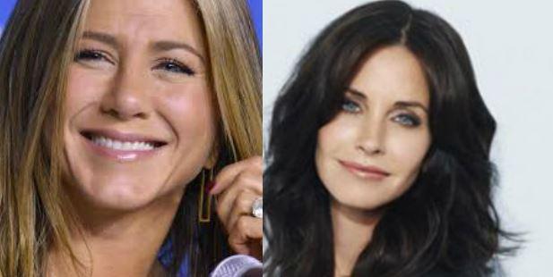 Jennifer Aniston damigella d'onore alle nozze di Courteney Cox e Johnny McDaid