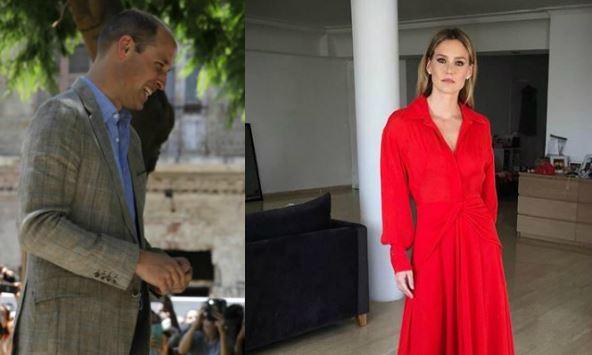 William a Tel-Aviv: incontra anche la modella Bar Refaeli