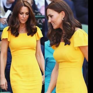 """73c80033d671 LONDRA – Kate Middleton e il mistero dell anello giallo  """"Non è un regalo  per la nascita di Louise"""". Quando si tratta di gioielli"""