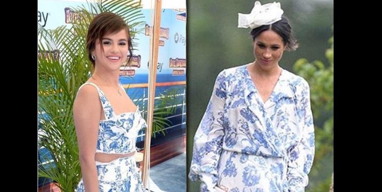 Selena Gomez copia Meghan Markle: abito (quasi) identico FOTO