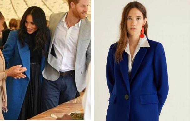 Meghan Markle look: l'alternativa low cost al suo cappotto blu