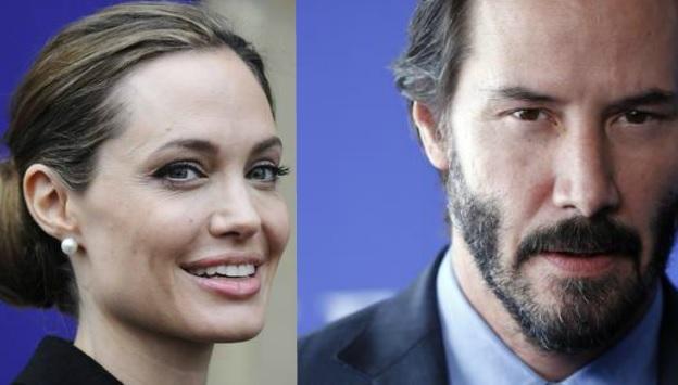 Angelina Jolie e Keanu Reeves escono insieme? Ultimo rumor