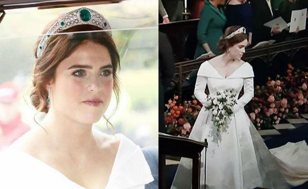 Eugenia di York: abito da sposa firmato Peter Pilotto