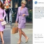 Kate Middleton, l'abito lilla è un omaggio a Lady Diana