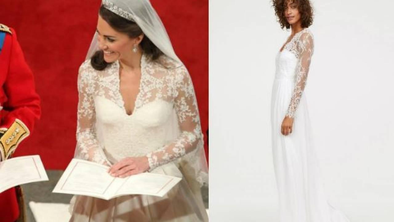Abiti Da Sposa Hm.Kate Middleton Abito Da Sposa Low Cost Ecco Il Modello H M