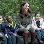Kate Middleton, look casual per tornare a lavoro