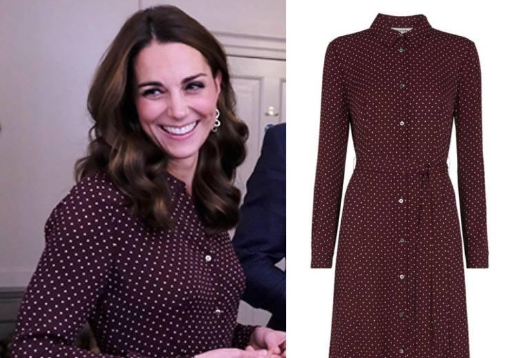 Kate Middleton sfoggia un nuovo abito low cost SUPER chic