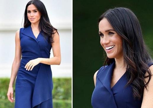 Meghan Markle paladina del blu navy: perché sceglie sempre questo colore